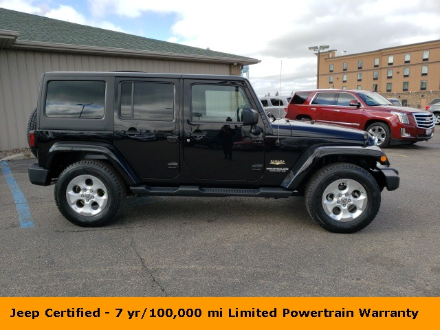 Certified Pre-Owned 2014 Jeep Wrangler Unlimited Sahara